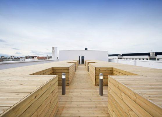 Lyon Staycity toit terrasse