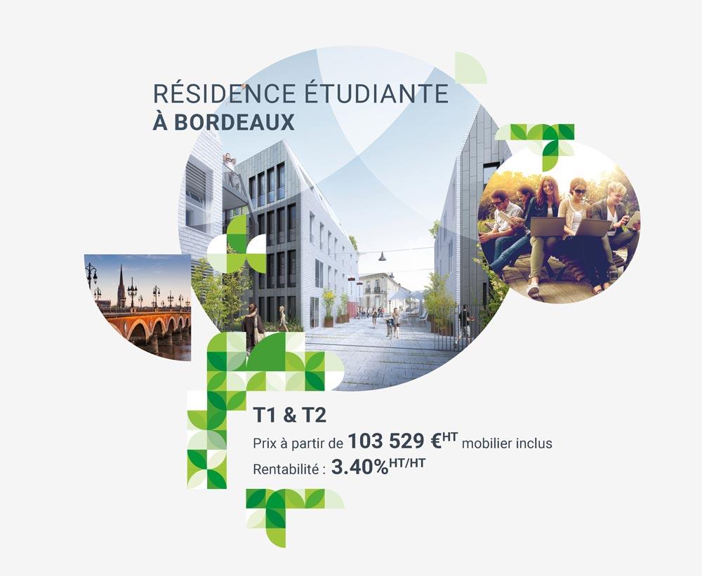 Investir dans une résidence étudiante à Bordeaux avec iSelection