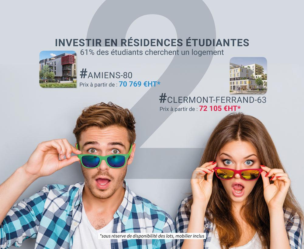 Investir dans une résidences étudiantes