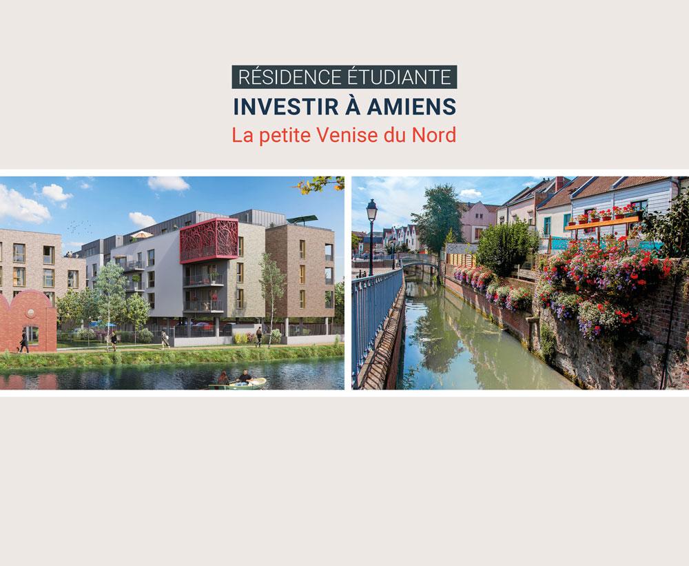Amiens résidence étudiante - LMNP