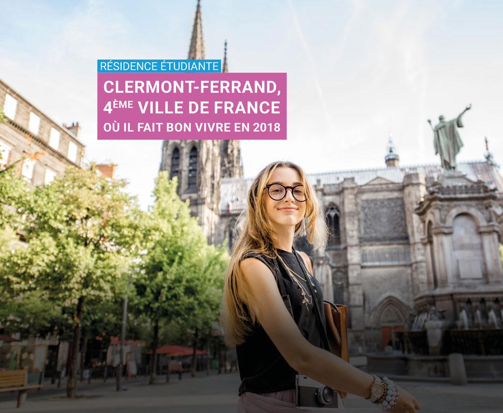 Clermont Ferrand résidence étudiante - LMNP