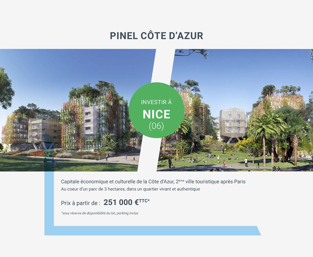 Investir en Pinel au coeur de Nice