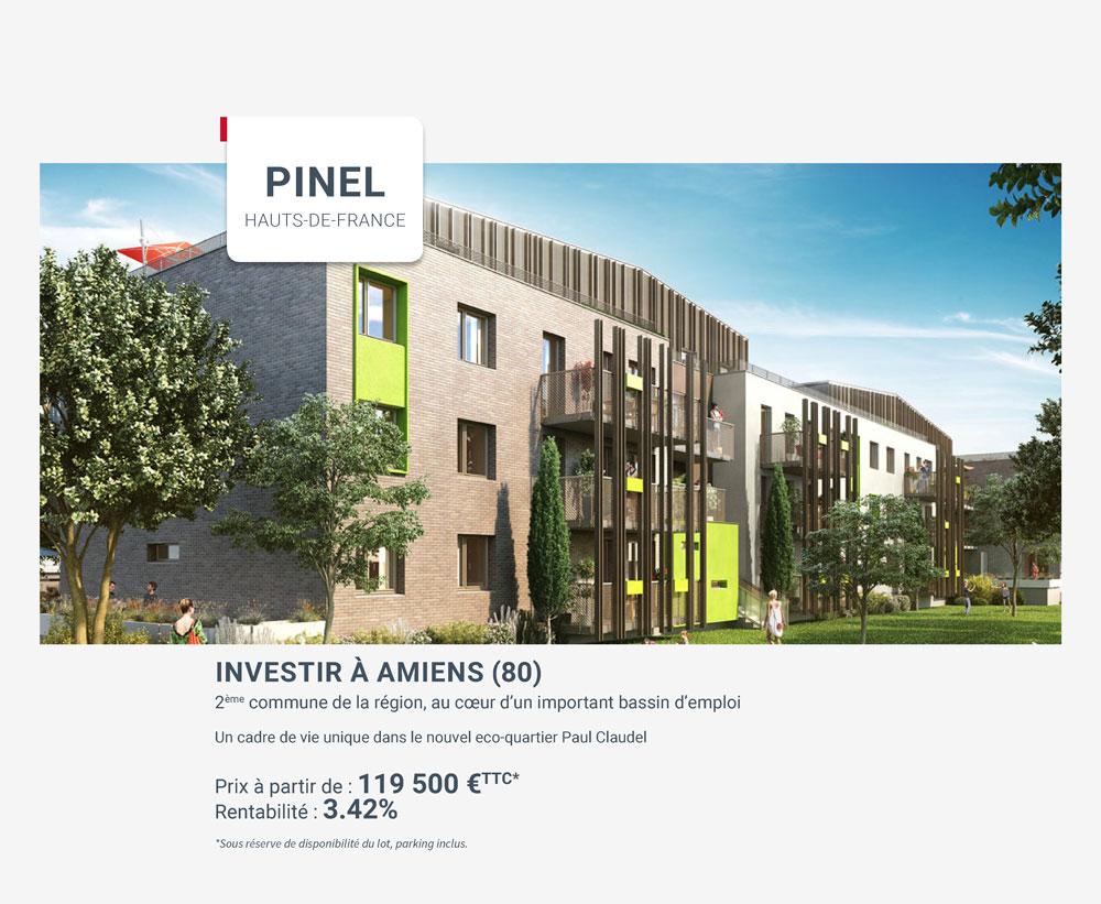 Investir en Pinel à Amiens