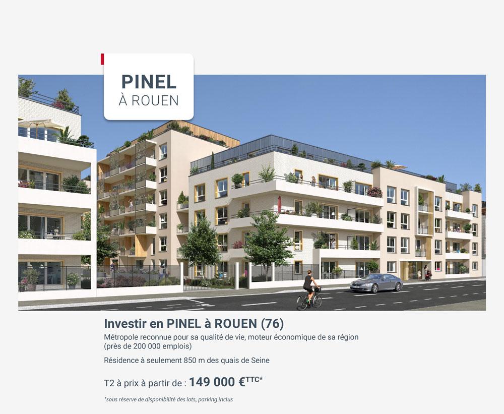 Résidence Pinel à Rouen Carré Flora