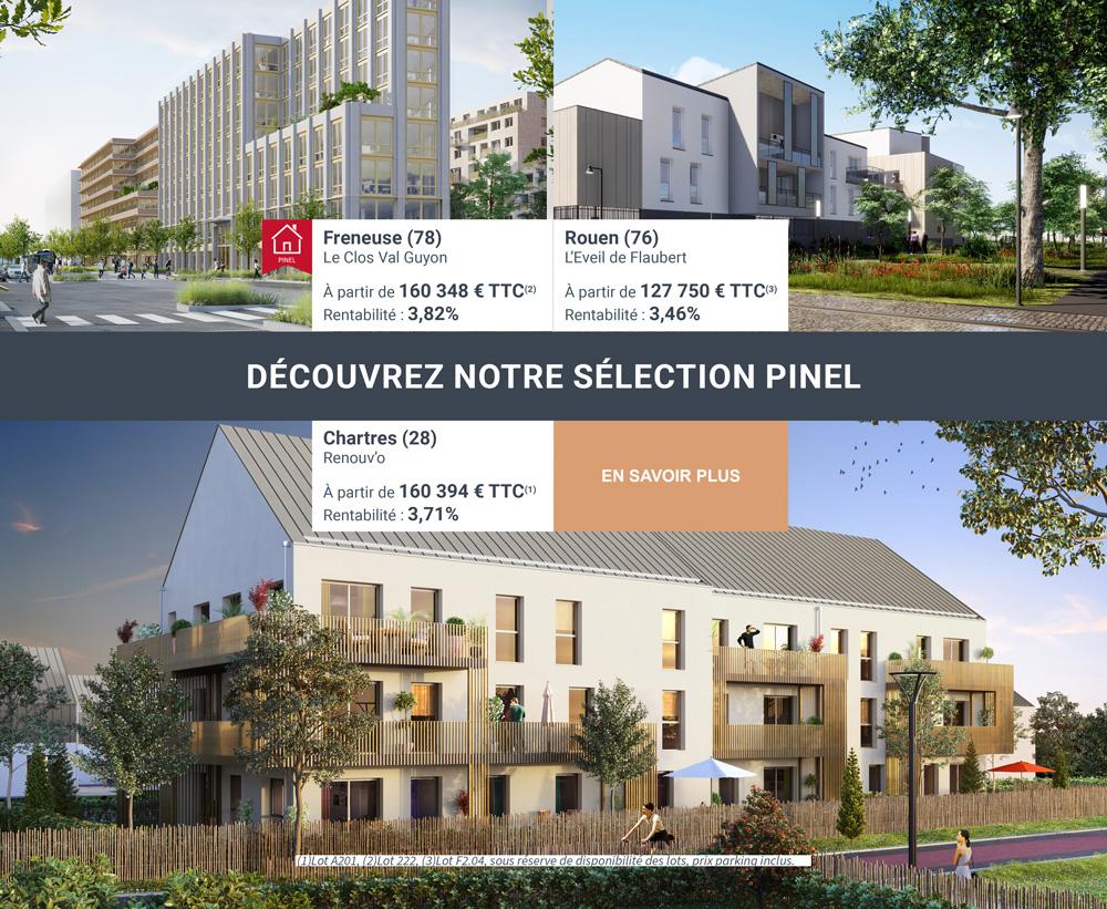 Selection résidences Pinel