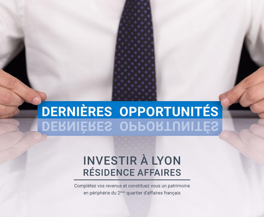 Résidence affaires à Lyon Part Dieu