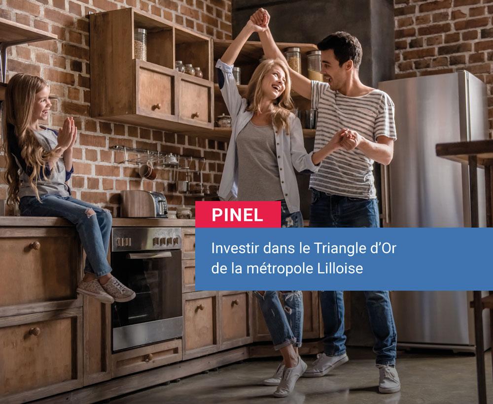 Investir en Pinel dans la métropole Lilloise - Triangle d'Or