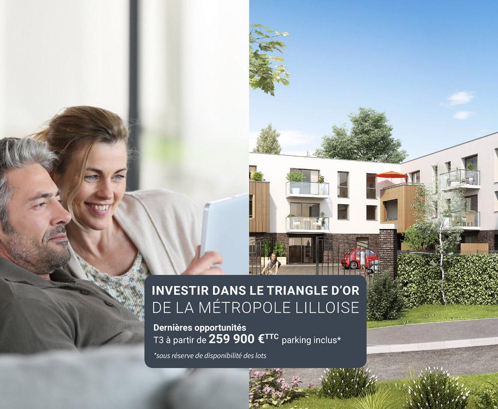 Investissement locatif dans la métropole Lilloise