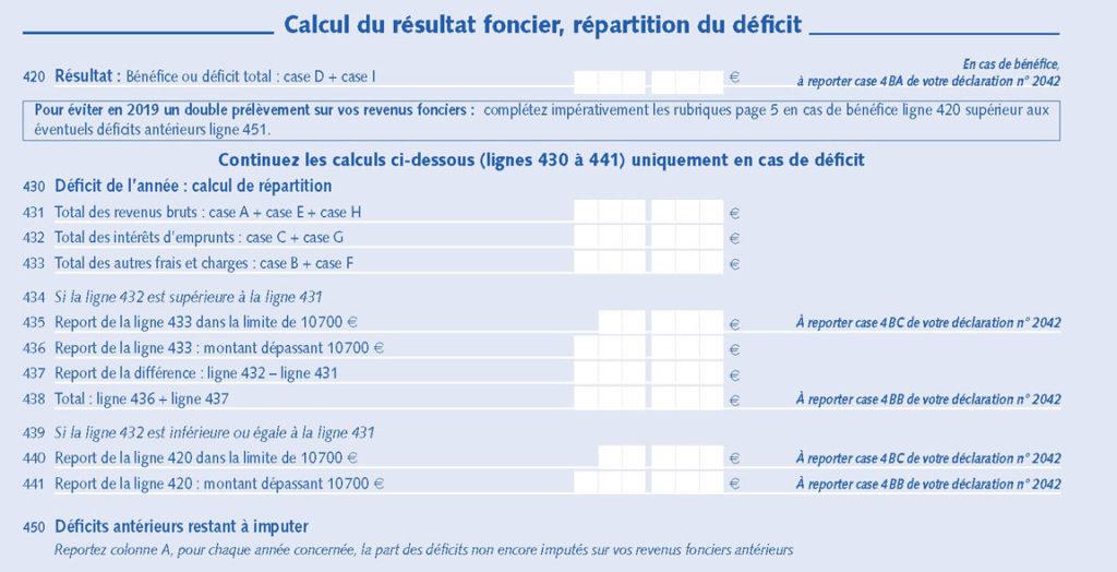 declaration-revenus-fonciers-2044-resultat-foncier