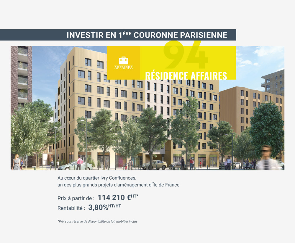 investir dans une residence-affaires a ivry-sur-seine-paris