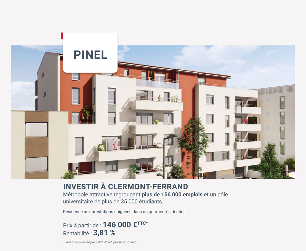 investissement-pinel-clermont-ferrand-iselection