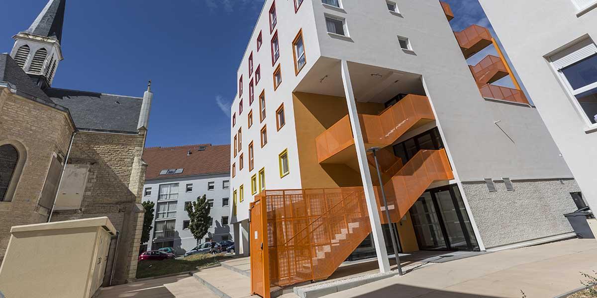 résidence étudiante Dijon Campus Trinité - Jardin Secret - extérieur