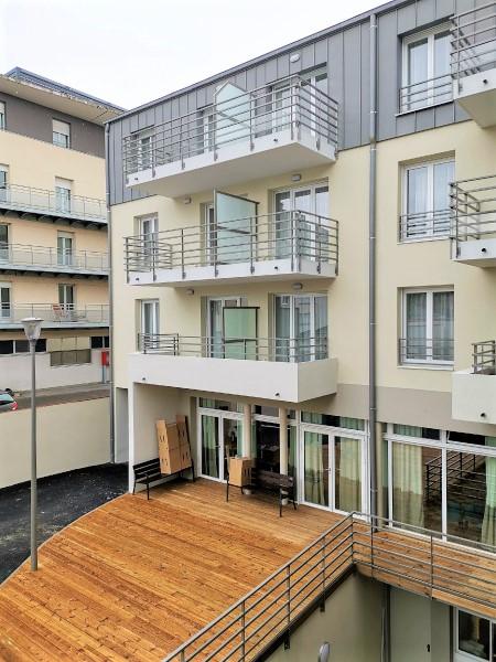 résidence seniors Bourges Jardins d'Arcadie Centralys-cour-interieure-2