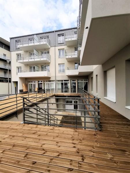 résidence seniors Bourges Jardins d'Arcadie Centralys- cour intérieure